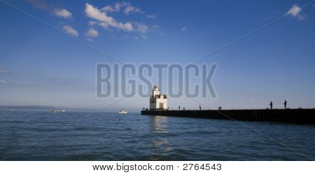 Lighthouse In Kewaunee