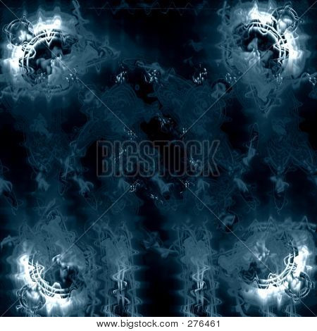 Frozen Abstract Background