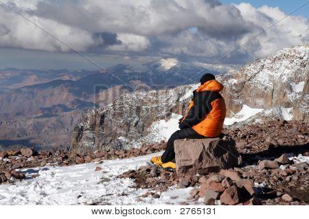 Aconcagua Mountaineer