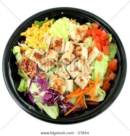 Grilled Chicken Salad To Go