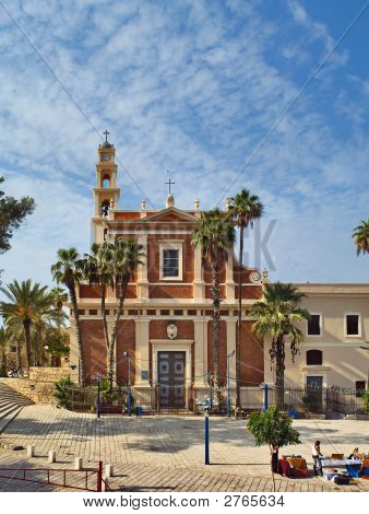 St. Piter Church In Jaffa, Israel