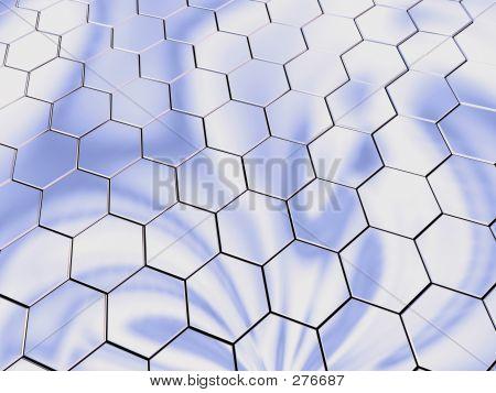 Platinum Hexagons