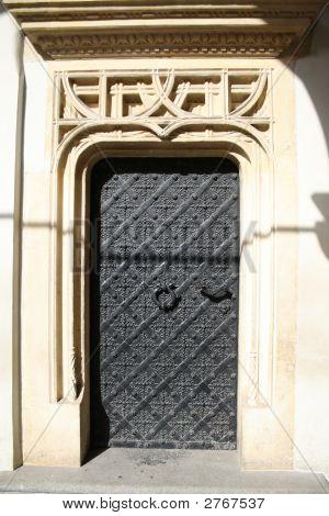 Medieval Iron Door