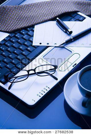 Laptop & Ballpoint