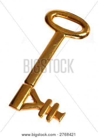Gold Yen Key