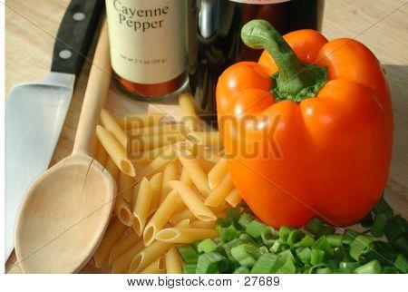 Abendessen-Prep