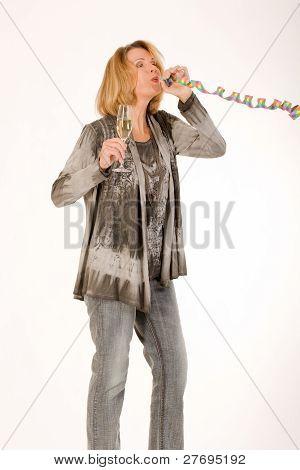 older women partying