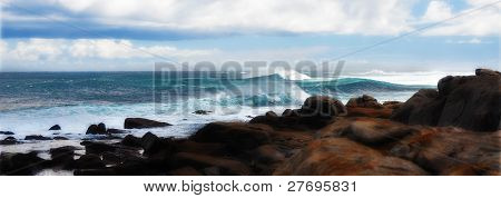 Wild Surf and Coastal Rocks