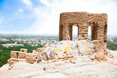 picture of zoroaster  - Tower of Ateshkadeh - JPG
