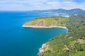 On Pha Hin Dum Can See Hidden Paradise Beach Kata Noi Beach Kata Beach And Karon Beach. The South Ca poster