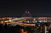 pic of northeast  - Freemont Bridge Portland Oregon 405 Bridge Looking Northeast - JPG