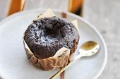Muffin ,chocolate Muffin  Or Dark Chocolate Muffin Dish poster