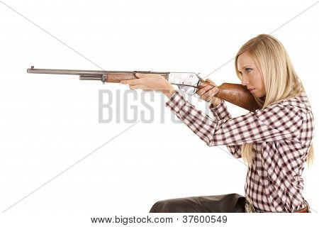 Cowgirl objectivo Rifle