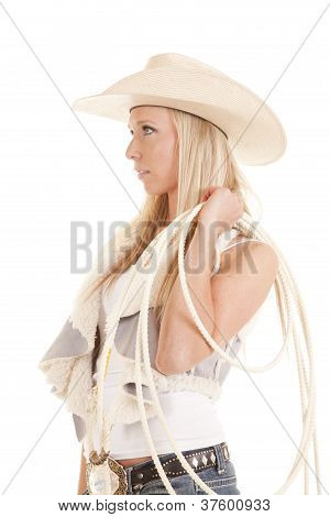 Cowgirl Rope Look Side