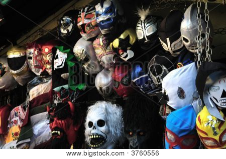 Masks At Market