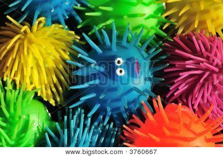 Squishy Puffer Fish Toys
