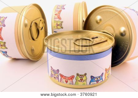 Cat Food Cans