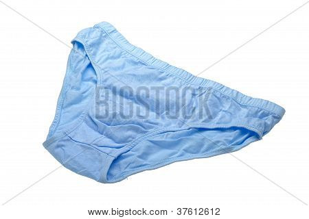 Blue Underpants