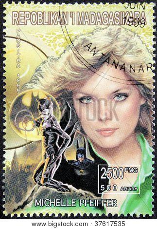 Michelle Pfeiffer Stamp