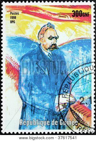 Nietzsche Stamp