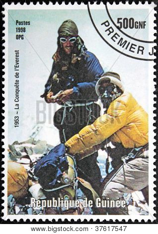 Mont Everest Stamp