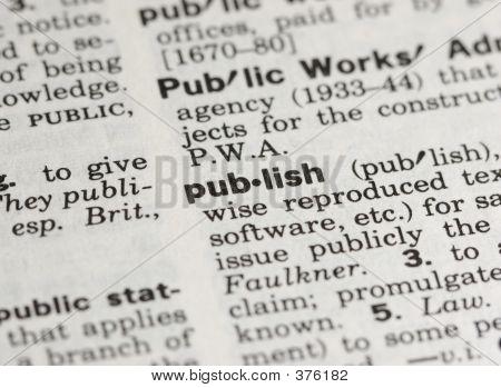 Publicar