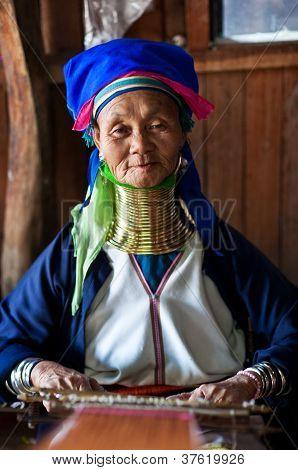 Padaung Tribe Woman