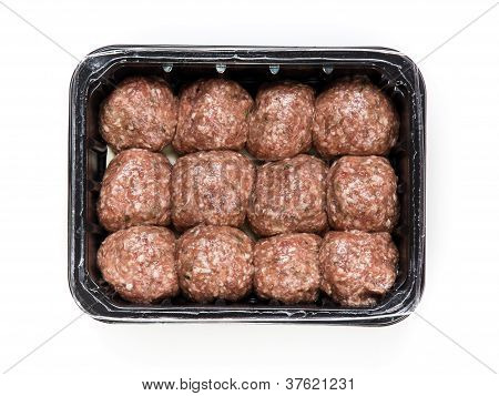 Flesh Meat Product For Cooking Packed In Box