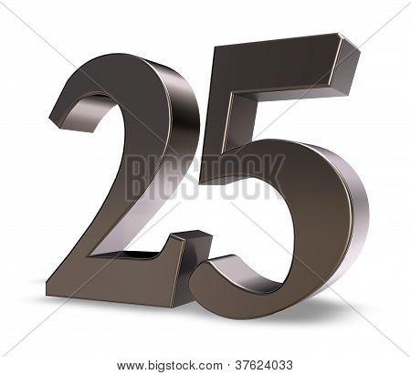 Number Twenty Five