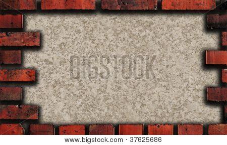 Quadro de tijolo