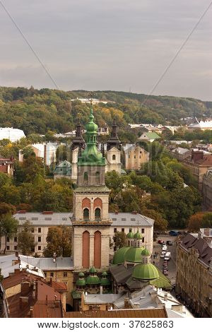 Historical center of Lviv