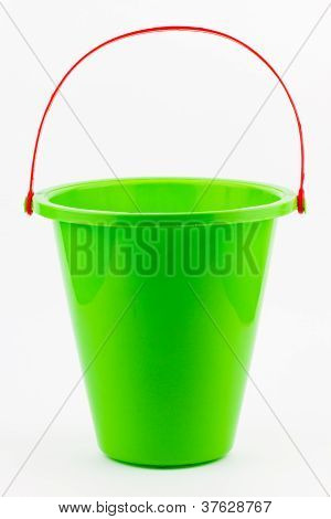 Green Beach Bucket
