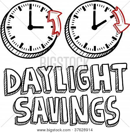 Daylight savings time sketch