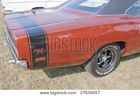 1969 Dodge Coronet Rt Back Panel