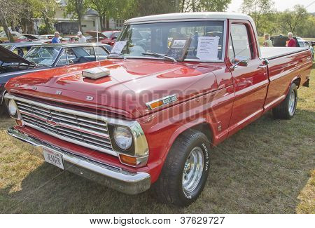 1969 Ford F100 Ranger Truck Front View