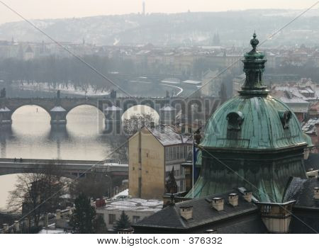 Picture or Photo of Misty view of prague