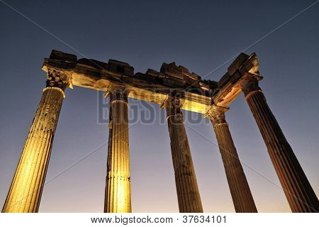 Temple Of Apollo, Side, Antalya, Turkey