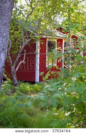 Scandinavian summerhouse