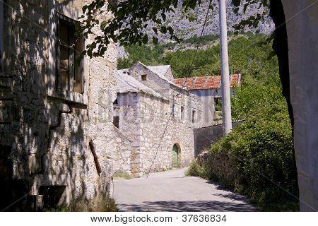 Old Village In Balkans