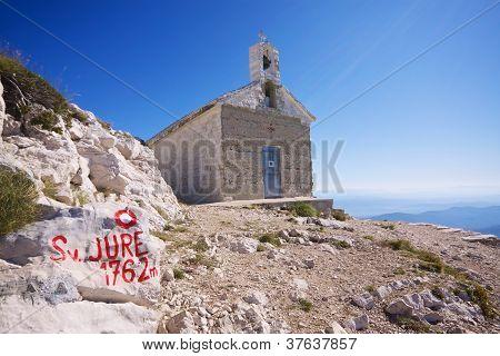 Chapel On Sveti Jure