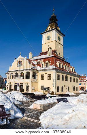 Brasov, mittelalterlichen des Rates Haus