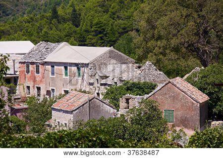 Village In Balkans