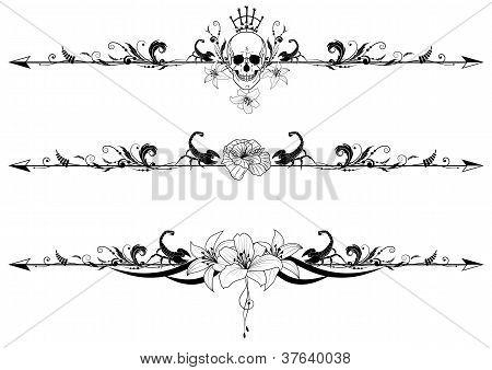 Conjunto de fronteras góticas