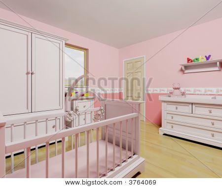 Nursery For Baby Girl