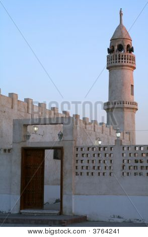 Old Mosque In Qatar