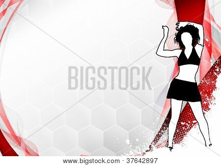 Fitness Dance Background