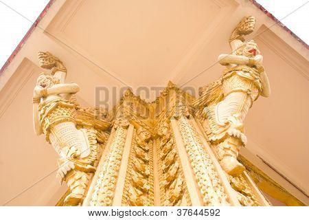 Garuda Statue Looks.
