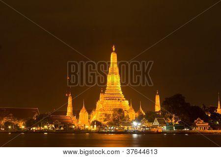 Pagoda In The Wat Arun.