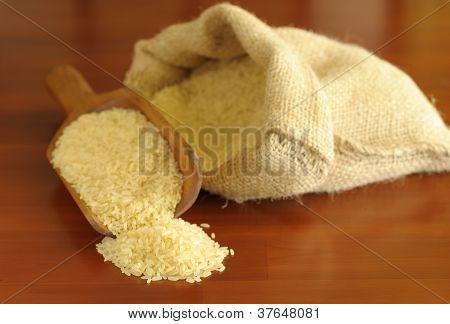 Scoop Of White Rice