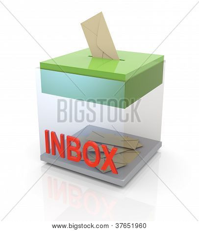 3D Posteingang
